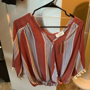 Size medium shirt blouse